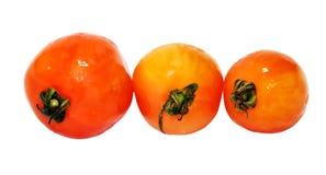 Свежий оранжевый изолированный томат 3 Стоковые Фотографии RF