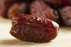 Свежий органический сырцовый плодоовощ даты Брайна Стоковое Фото
