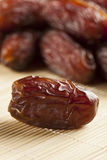 Свежий органический сырцовый плодоовощ даты Брайна Стоковое фото RF
