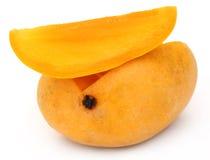 Свежий отрезанный манго Стоковое Изображение RF