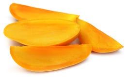 Свежий отрезанный манго Стоковое фото RF