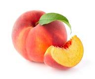свежий персик стоковые фотографии rf