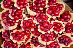 Свежий пирог плодоовощ десерта Стоковое Изображение