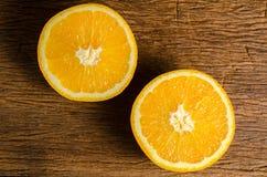 свежий половинный помеец Стоковая Фотография RF