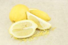 свежий пыл лимонов лимона стоковая фотография rf