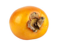 Свежий плодоовощ kaki на белизне Стоковая Фотография