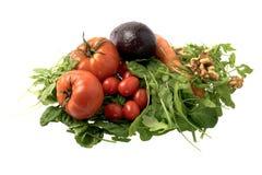свежий салат ингридиентов Стоковые Изображения