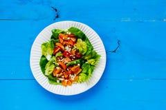 свежий салат плиты Стоковые Фотографии RF