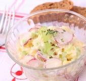 свежий салат редиски картошек Стоковые Фото