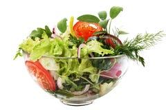 свежий салат сада Стоковое фото RF