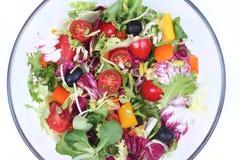 свежий салат смешивания Стоковое Изображение