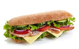 Свежий сандвич подводной лодки Стоковое Изображение RF