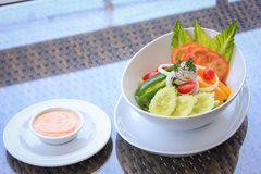 свежий салат сада Стоковая Фотография