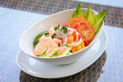 свежий салат сада Стоковое Фото