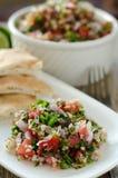 Свежий салат tabouleh Стоковые Изображения RF