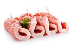 свежий свинина сырцовый стоковое фото rf
