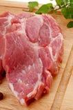 свежий свинина сырцовый стоковое изображение rf