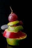 Свежий смешанный плодоовощ стоковое фото rf