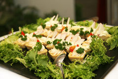 свежий смешанный салат Стоковое Фото
