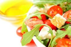 свежий смешанный салат Стоковое Изображение