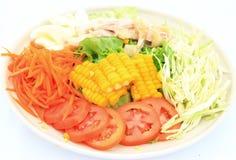 Свежий смешанный салат Стоковая Фотография