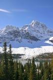 свежий снежок горы Стоковая Фотография RF