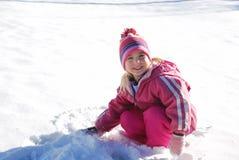 свежий снежок Стоковое Фото
