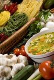 свежий суп 2 Стоковые Изображения
