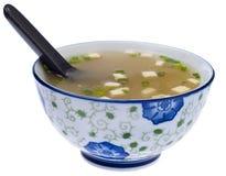 свежий суп miso стоковое фото rf