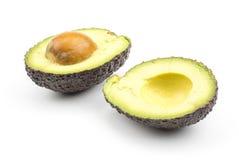 Свежий сырцовый авокадо изолированный на белизне Стоковая Фотография RF