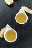 Свежий сделанный applesauce Стоковое фото RF