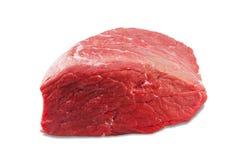 Свежий сляб говядины изолированный на белой предпосылке Стоковые Изображения RF
