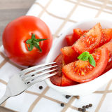 свежий томат салата Стоковая Фотография