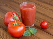 свежий томат сока Стоковая Фотография