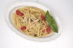свежий томат спагетти Стоковое фото RF