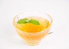 свежий травяной чай мяты Стоковая Фотография