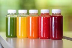 Свежий фрукт и овощ смешивания сока Стоковые Фотографии RF