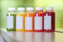 Свежий фрукт и овощ смешивания сока Стоковая Фотография