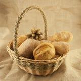 Свежий хлеб и печенья Стоковые Изображения RF