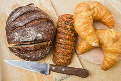 Свежий хлеб и выпечка Стоковая Фотография RF