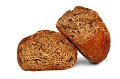 Свежий хлеб, обваливает сломленное в сухарях Стоковые Изображения