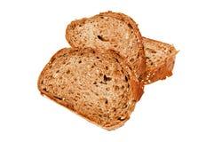 Свежий хлеб, отрезанный хлеб Стоковая Фотография RF