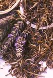 свежий чай лаванды Стоковая Фотография RF