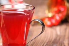 Свежий чай розового бедра Стоковые Изображения
