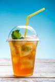 свежий чай льда стоковая фотография