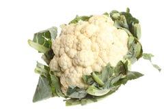 Свежий cauliflower изолированный на белизне Стоковое Фото