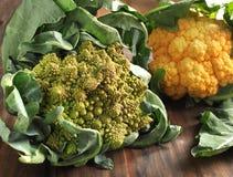 Свежий cauliflower Стоковые Фото