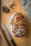 свежий homebaked хлеб Стоковое фото RF