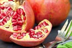 Свежий pomegranate Стоковые Изображения RF