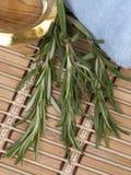 свежий rosemary масла массажа теплый Стоковые Изображения